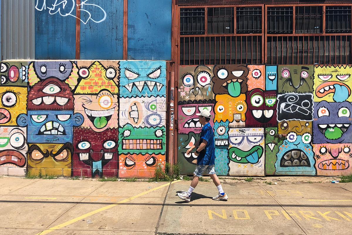 ブルックリンで遊んでる時の写真